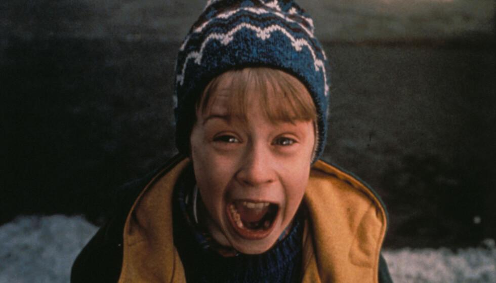 DA: Macaulay Culkin i filmen «Home Alone 2: Lost in New York» i 1992. Foto: NTB Scanpix