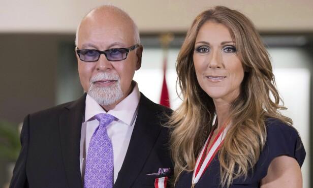 BANET VEI: René Angélil var en canadisk komponist og tidligere sanger. Han skal blant annet ha æren for mye av kona Celine Dions suksess. Foto: NTB Scanpix