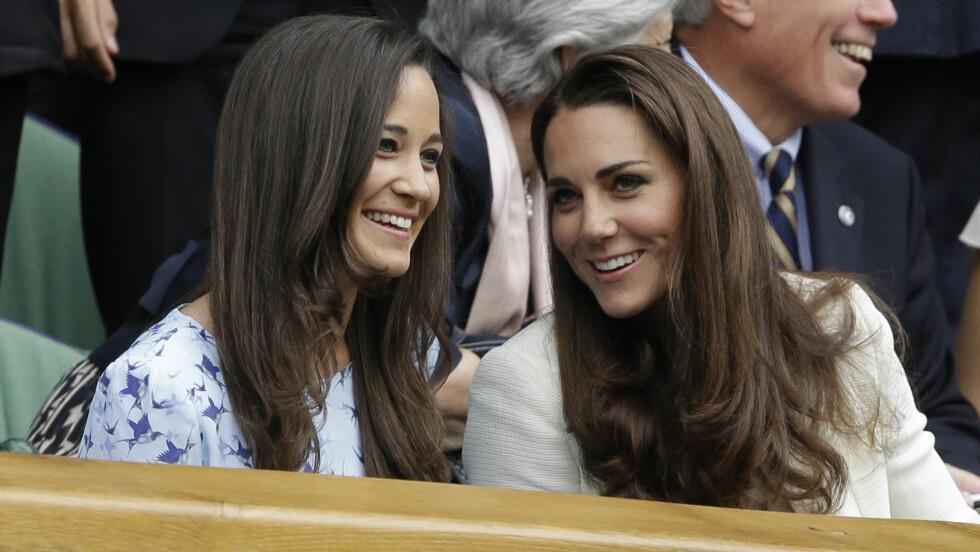 SKYGGER BANEN: Kate skal ønske å holde seg i bakgrunnen under lillesøster Pippas bryllup neste sommer.  Foto: Ap