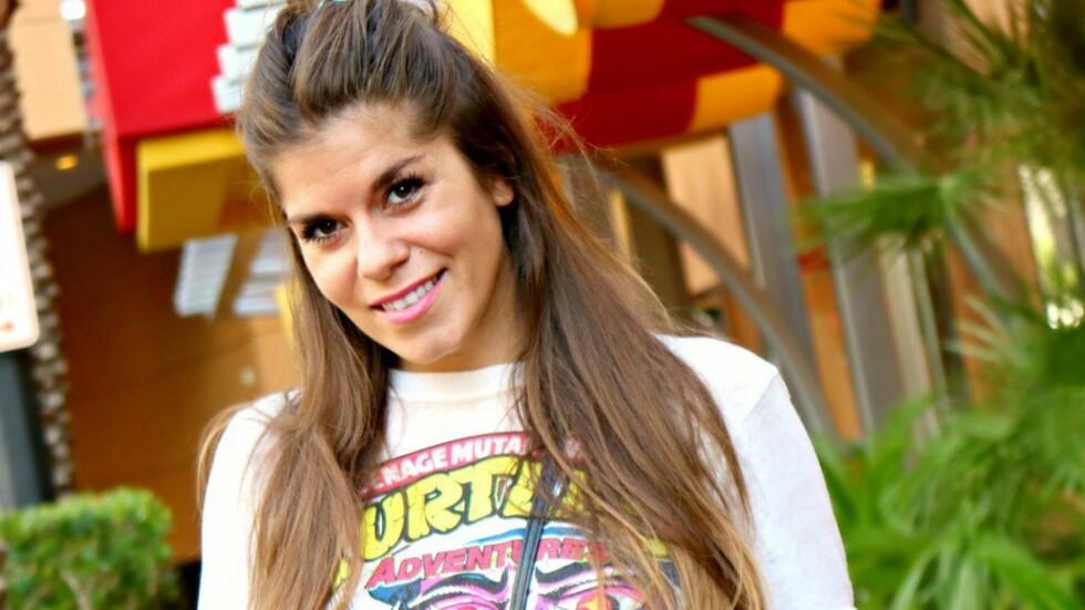 KRITISK: Blogger Kristin Gjelsvik, også kjent som «StyleConnection», har markert seg med glødende blogginnlegg om blant annet dagens skjønnhetspress. Nå er hun nominert til «Årets blogger» på Se og Hørs kjendisgalla. Foto: Privat