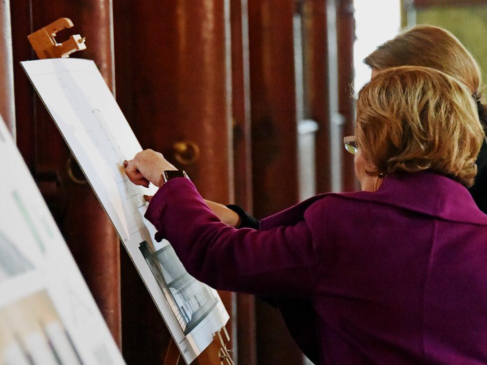 LEDER ARBEIDET: Det er Dronning Sonja selv som vil lede arbeidet med utviklingen av Kunststallen. Foto: Foto: Sven Gj. Gjeruldsen, Det kongelige hoff