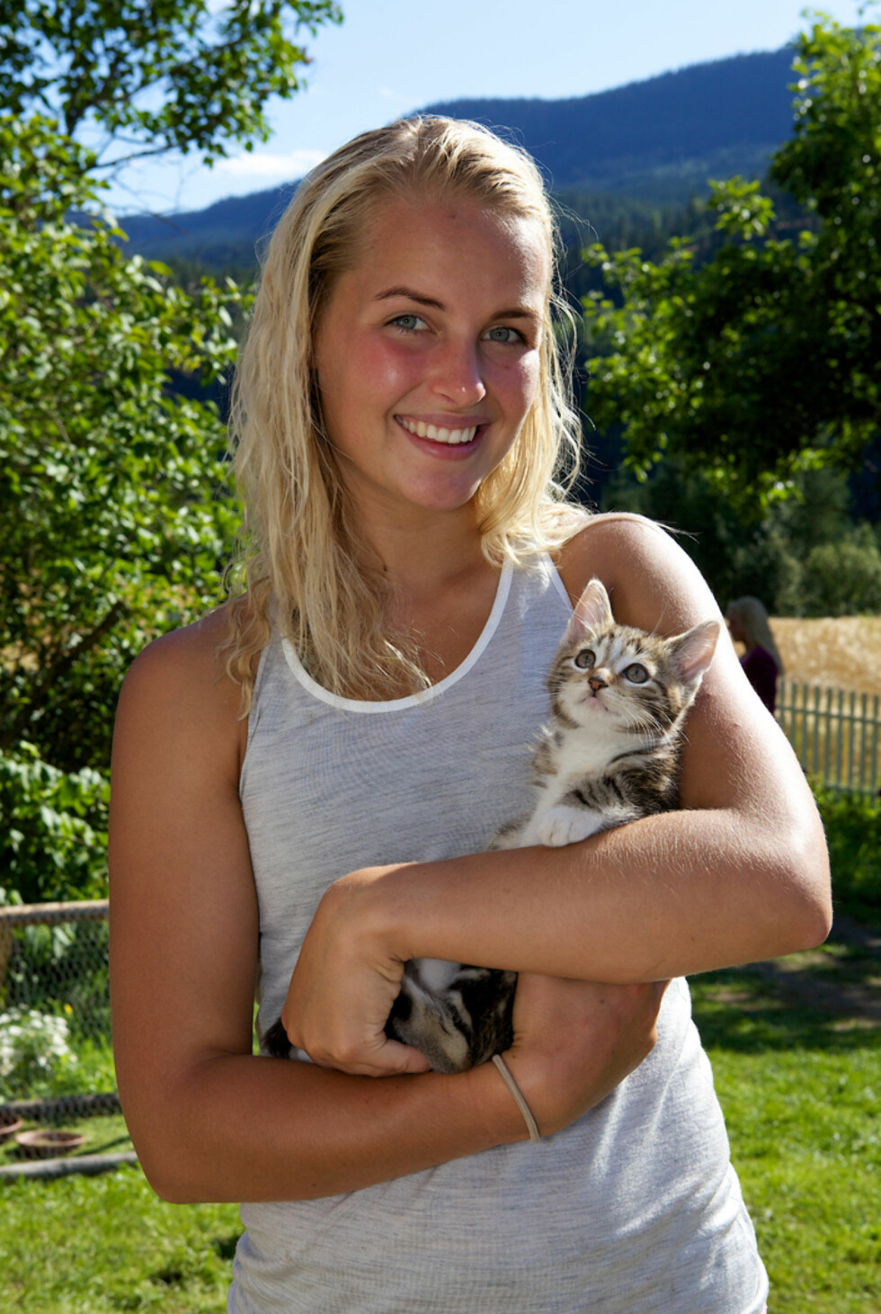 TIDENES YNGSTE: Ingvild Skare Thygesen overrasket mange da hun gikk helt til topps i «Farmen» i 2012, som den yngste vinneren hittil.  Foto: TV 2