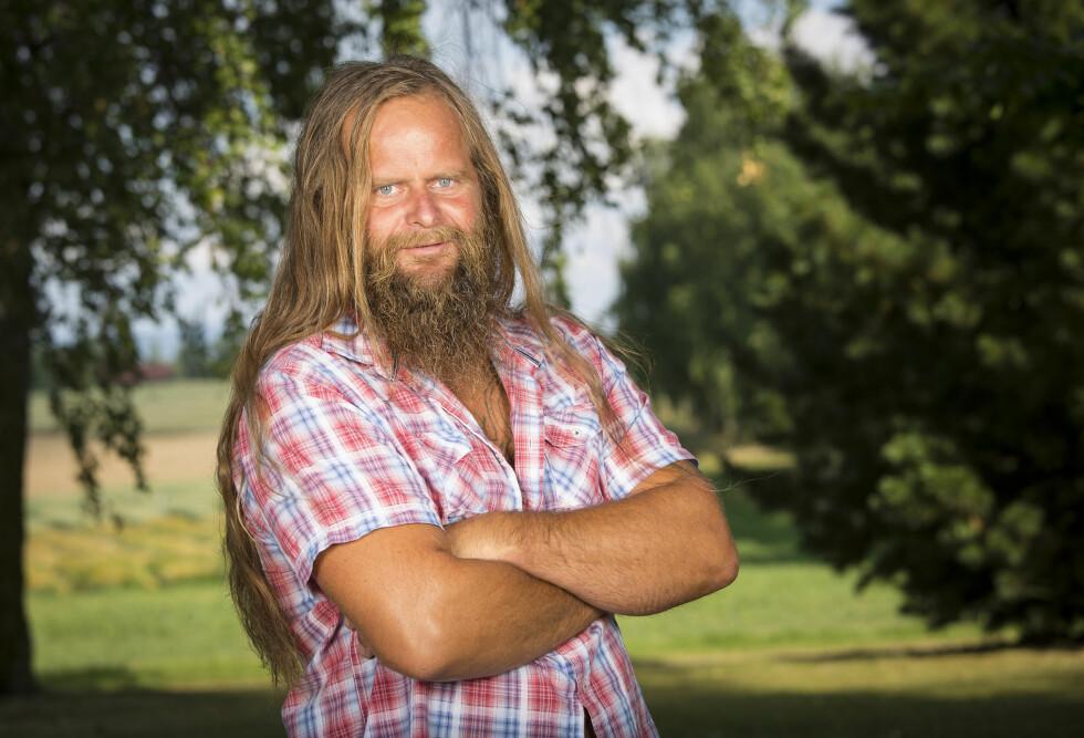 GJORDE SEG BEMERKET: Frank Tore Aniksdal var blant de mest omtalte «Farmen»-deltakerne i 2014. Foto: Tor Lindseth/ Se og Hør