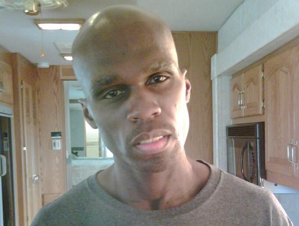 25 KILO: 50 Cent gikk ned 25 kilo på bare ni uker, og var nesten ikke til å kjenne igjen, da han spilte en kreftrammet fotballspiller i filmen «All Things Fall Apart» fra 2011.  Foto: Stella Pictures
