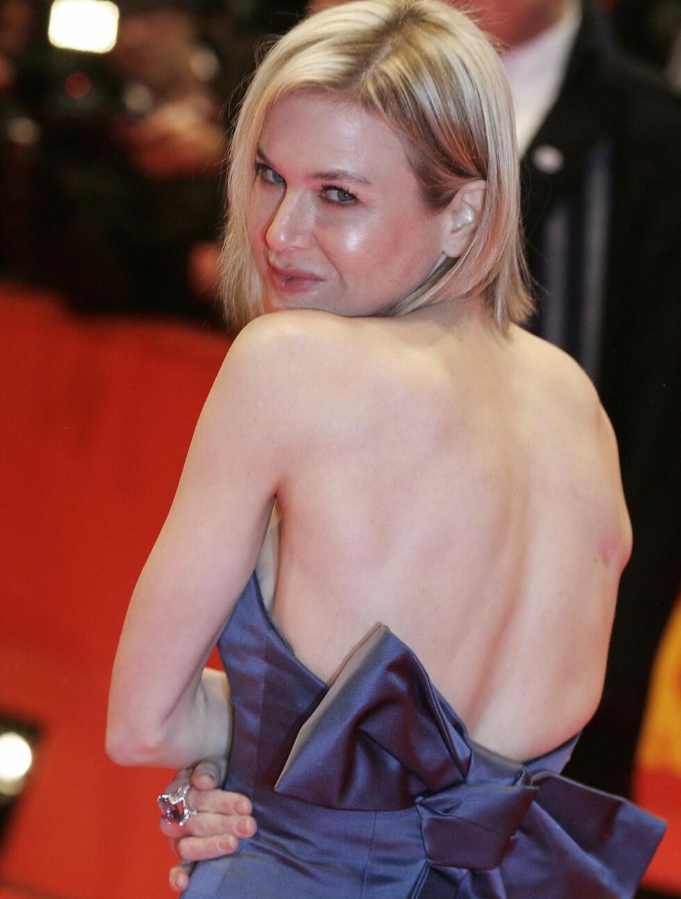 TYNN IGJEN: Nå har Renee Zellweger slanket bort de ekstra kiloene hun la på seg under innspillingen til «Bridget Jones's Diary» fra 2001. Foto: Stella Pictures