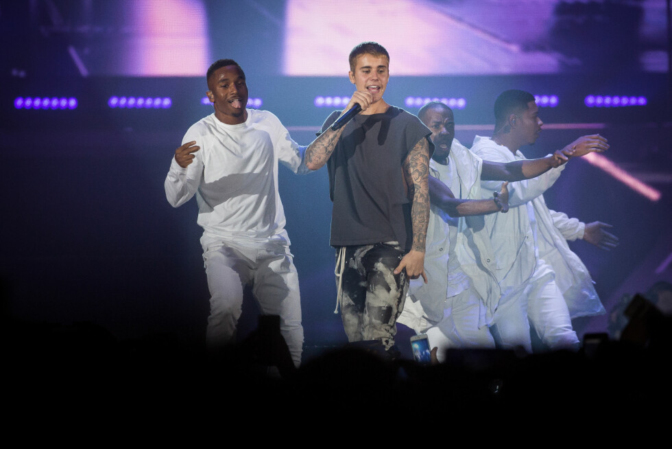 I NORGE: En knapp måned før mandagens Birmingham-konsert, stod Justin Bieber på scenen i Telenor Arena i Bærum.  Foto: Gonzales Photo