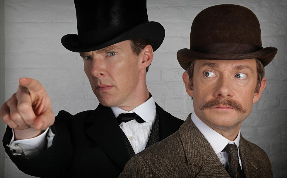 BERØMT: Benedict Cumberbatch er blant annet kjent fra serien «Sherlock». Foto: HARTSWOOD FILMS/BBC WALES / Album