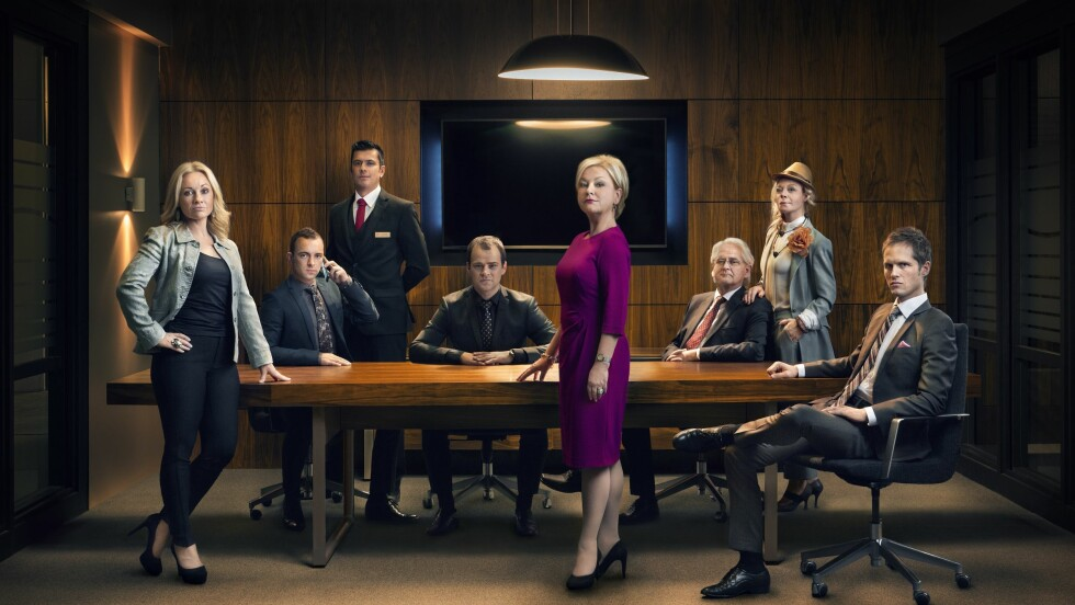 SLUTT? Den 16. november spilles siste episode av den populære TV 2 serien Hotel Cæsar inn. Alle skuespillerne og mange andre står da uten kontrakt. Foto: TV 2