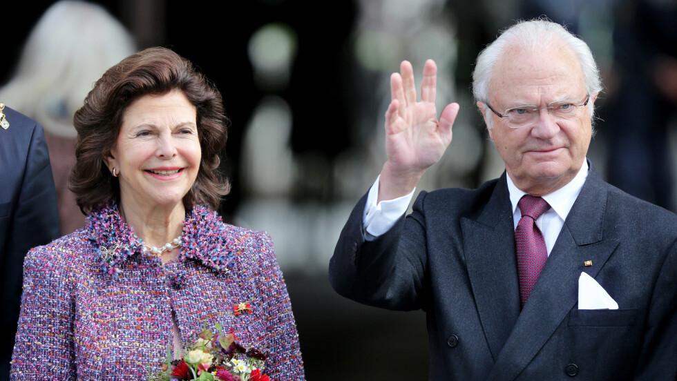 MÅ ROE NED: Kong Carl Gustaf blir nødt til å legge om programmet sitt etter å ha pådratt seg en smertefull prolaps.