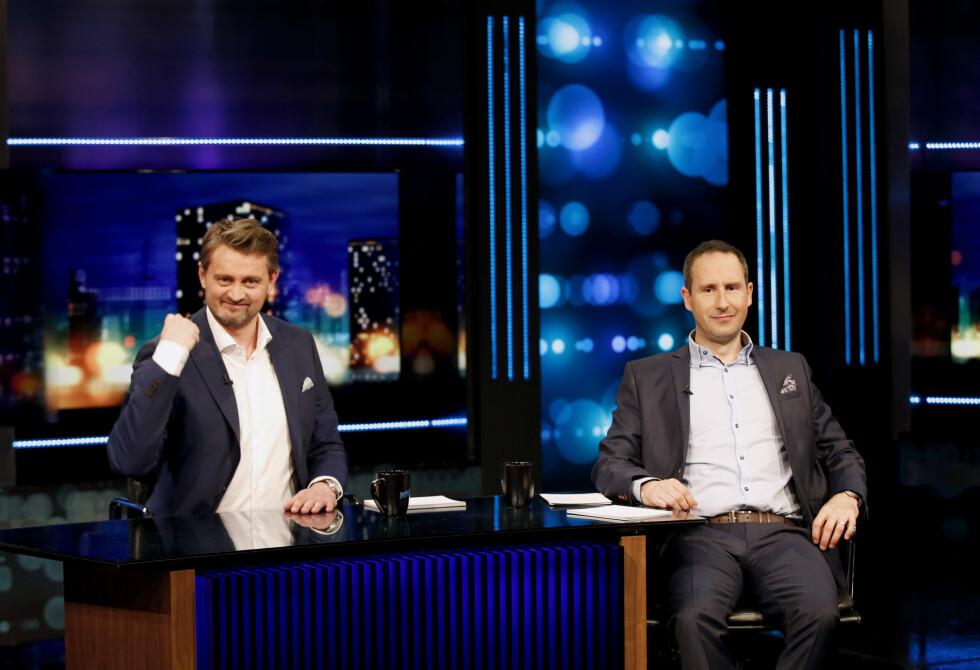 IKKE LIKESTILT: Thomas Numme og Harald Rønneberg kan begge le hele veien til banken, men det er altså sistnevnte som hadde den største inntekten i fjor.  Foto: NTB scanpix