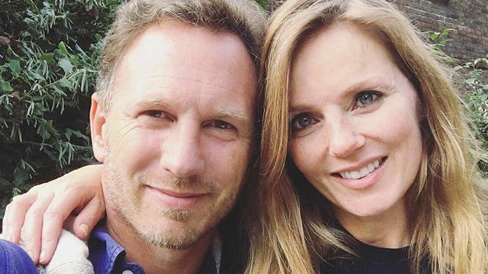 BLIR FORELDRE: Geri Halliwell venter sitt første barn med ektemannen Christian Horner.  Foto: Xposure