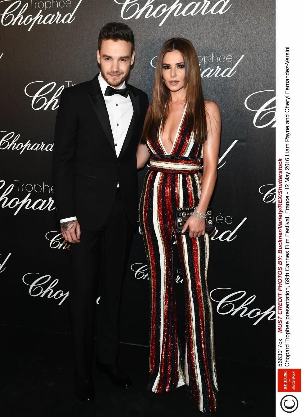 STJERNEPAR: Liam Payne, kjent fra gruppa One Direction, og Cheryl Cole avslørte at de var et par i februar.  Foto: Rex Features