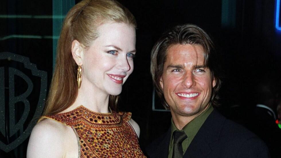 <strong>VAR GIFT I 11 ÅR:</strong> Nicole Kidman og Tom Cruise var et av Hollywoods mest berømte ektepar fra 1990 til 2001.  Foto: EPA