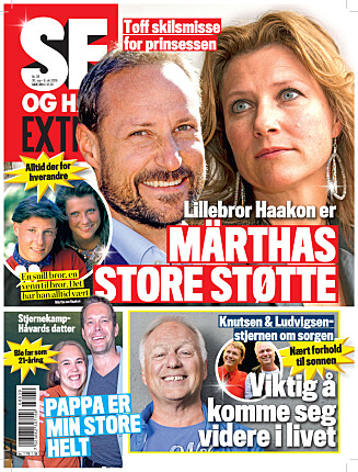 I SALG NÅ: I nyeste nummer av Se og Hør Extra kan du lese mer om Sandra Lyng. Foto: Se og Hør