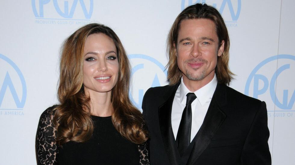 AVLYSER: Brad Pitt har avlyst en filmpremiere han skulle deltatt på for å fokusere mer på familien etter skilsmissen som har sjokket en hel verden.  Foto: Broadimage