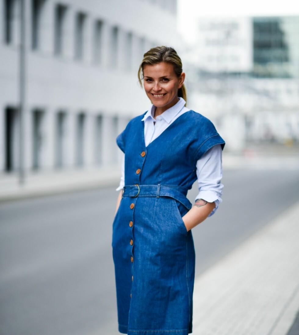 PÅ MODELLJAKT: Janka Polliani er denne høsten også aktuell som programleder for «Top Model» på kanalen FEM. Foto: FEM