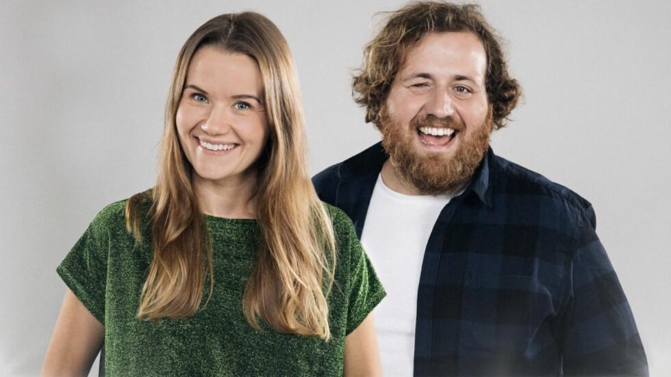 SUPERDUO: Live Nelvik og Ronny Brede Aase skal lede prisutdelingen P3 Gull sammen i november.  Foto: Kim Erlandsen, NRK