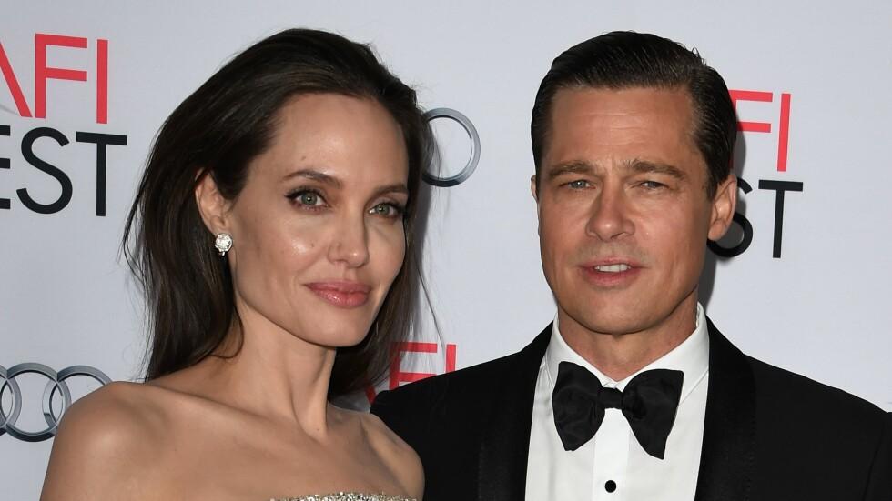 ETTERFORSKES: Ifølge det amerikanske nettstedet TMZ er Brad Pitt nå under etterforskning for barnemishandling. Pitt skal ha fått et utbrudd ombord i et privatfly sammen med Angelina Jolie og parets sesk barn forrige uke. Foto: Afp