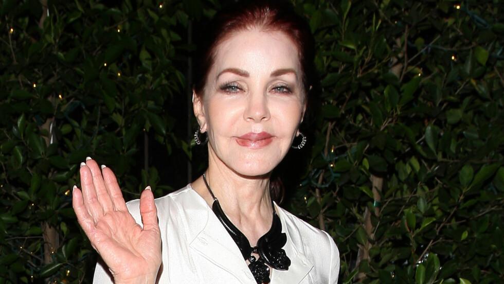 JAKTET UNGDOMSKILDE: Priscilla Presley ønsket å bli kvitt rynkene og gjennomførte flere uheldige kosmetiske inngrep.  Foto: Splash News