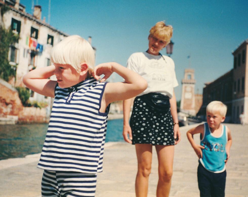 TØFF BARNDOM: - Som liten var jeg ikke snill mot andre barn. Jeg hadde en ADHD-diagnose og unormalt stor matlyst, og var det man i dag kaller hyperaktiv, sier Espen Andre til Se og Hør. Foto: Privat