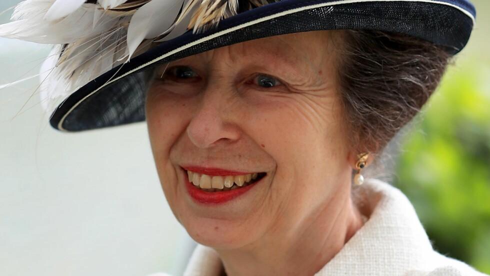 <strong>AVLYSER:</strong> Prinsesse Anne må avlyse flere oppdrag den kommende uken grunnet infeksjon i brystet. Foto: Pa Photos