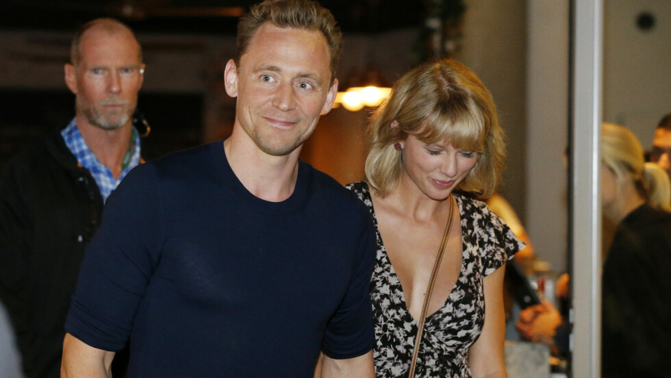 SETT SAMMEN: Superparet Taylor Swift og Tom Hiddleston sett sammen i Australia i sommer.  Foto: Rex Features
