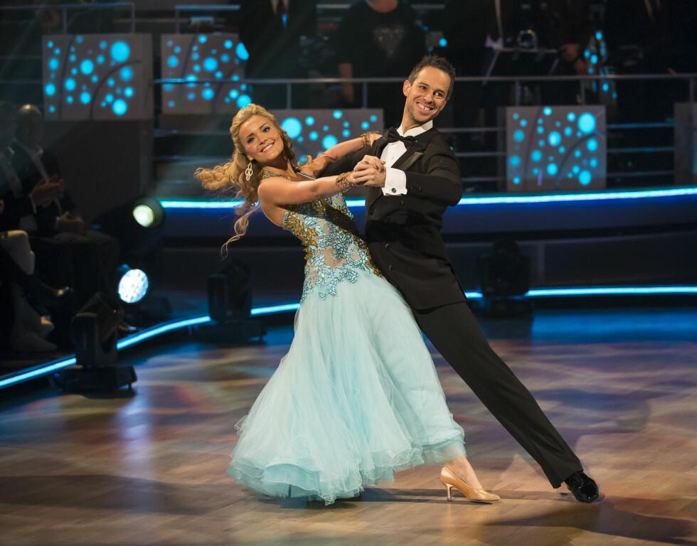 PÅ PARKETTEN: I 2014 var Caroline Berg Eriksen med i TV 2-konkurransen «Skal vi danse». Foto: Tor Lindseth