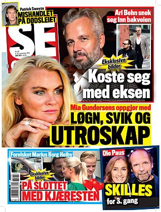 LES MER: I nyeste nummer av Se og Hør kan du lese mer om Silje Nordendal og Alexander Bonsaksen. Foto: Se og Hør