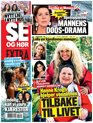 <strong>I SALG NÅ:</strong> I nyeste nummer av Se og Hør Extra kan du lese mer om Adelén og hennes nye kjæreste. Foto: Se og Hør