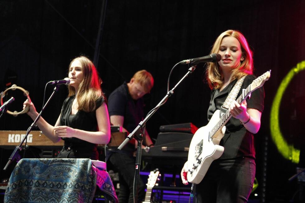 SUKSESS: Marit Larsen har gjort det stort både i Norge og i utlandet. Her spiller hun under en konsert i Tyskland. Foto: wenn.com