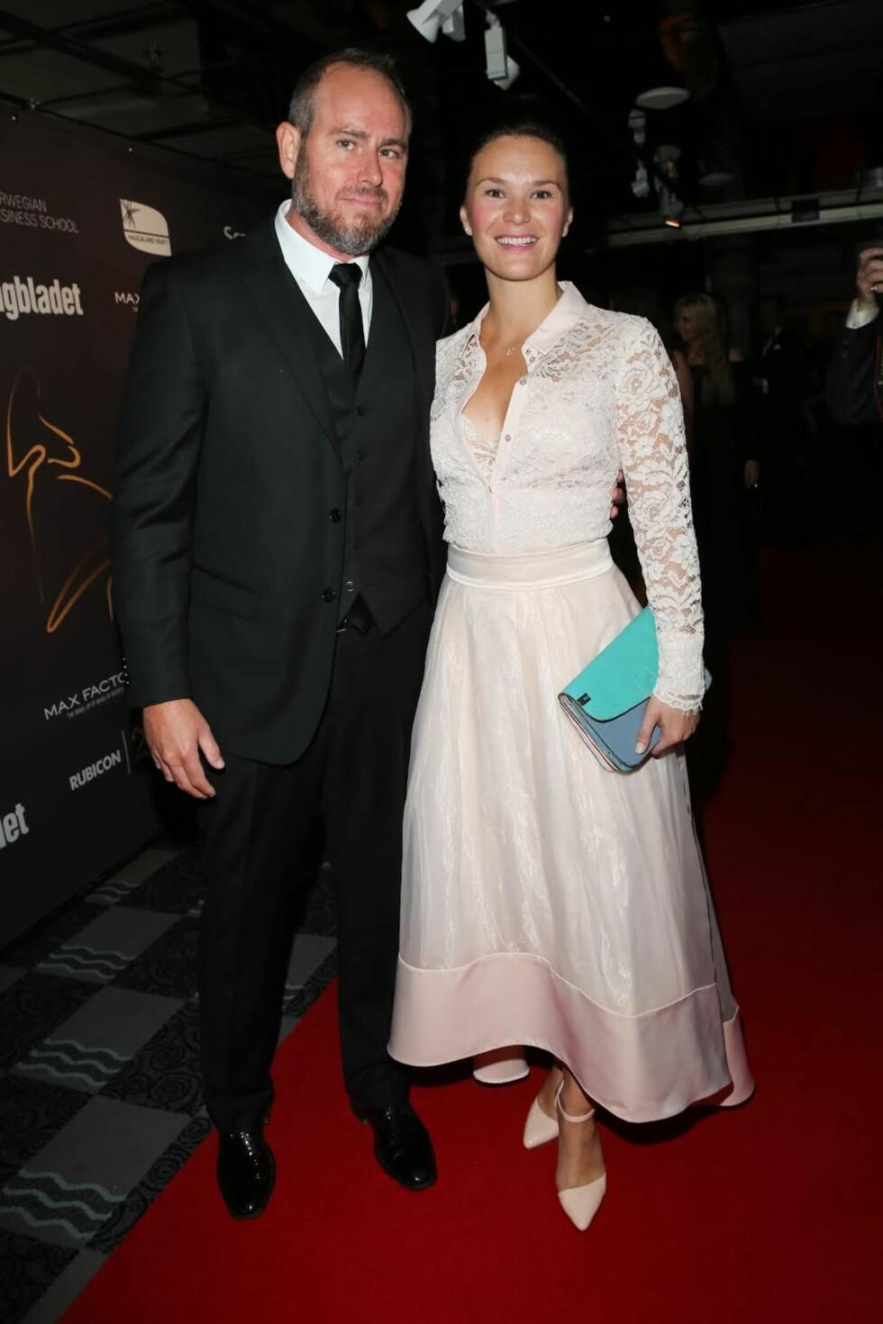 LILYHAMMER-STJERNE: Tommy Karlsen Sandum kom med kjæresten Annette Gjerde Hansen.  Foto: Andreas Fadum