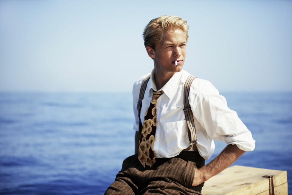 SPILTE I OSCAR-NOMINERT FILM: I 2012 spilte Jakob Oftebro rollen som Torstein Raaby i den Oscar-nominerte filmen «Kon-Tiki».  Foto: Aller Media NO
