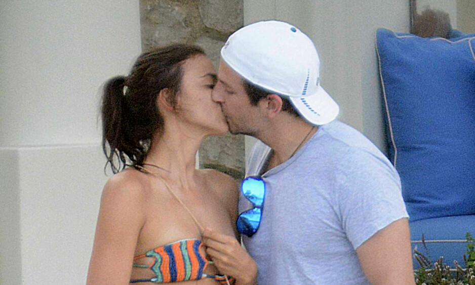 BABYLYKKE: Supermodell Irina Shayk og Bradley Cooper ble ifølge People foreldre for to uker siden. Foto: NTB Scanpix