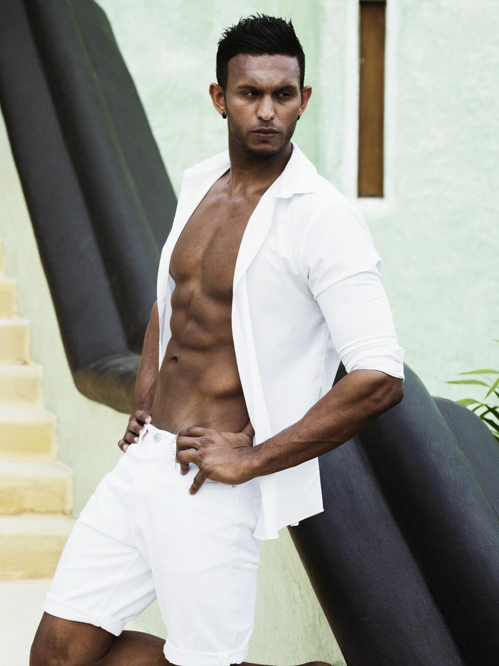 POPULÆR KAR: Mayoo ble populær etter sin deltakelse i «Paradise Hotel», noe som førte til at både gutter og jenter kontaktet ham.  Foto: TV3