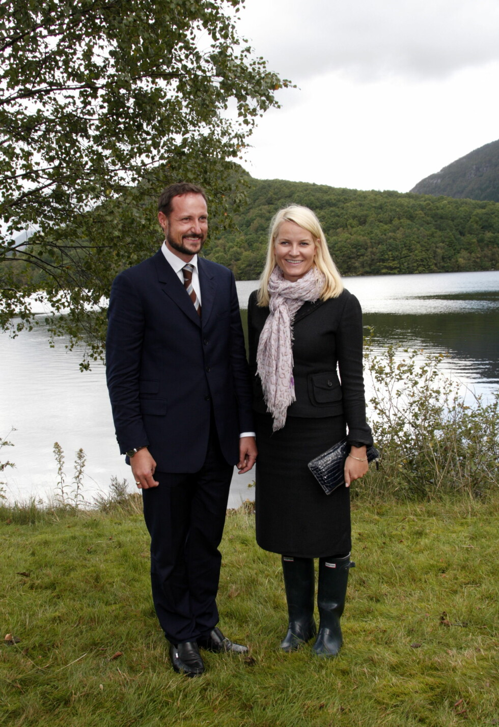 2009: Kronprinsparet på fylkesbesøk i Rogaland. Foto: NTB scanpix