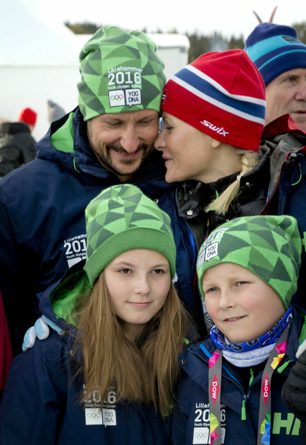 2016: Med Ingrid Alexandra og Sverre Magnus på Lillehammer i februar i år.   Foto: Danapress