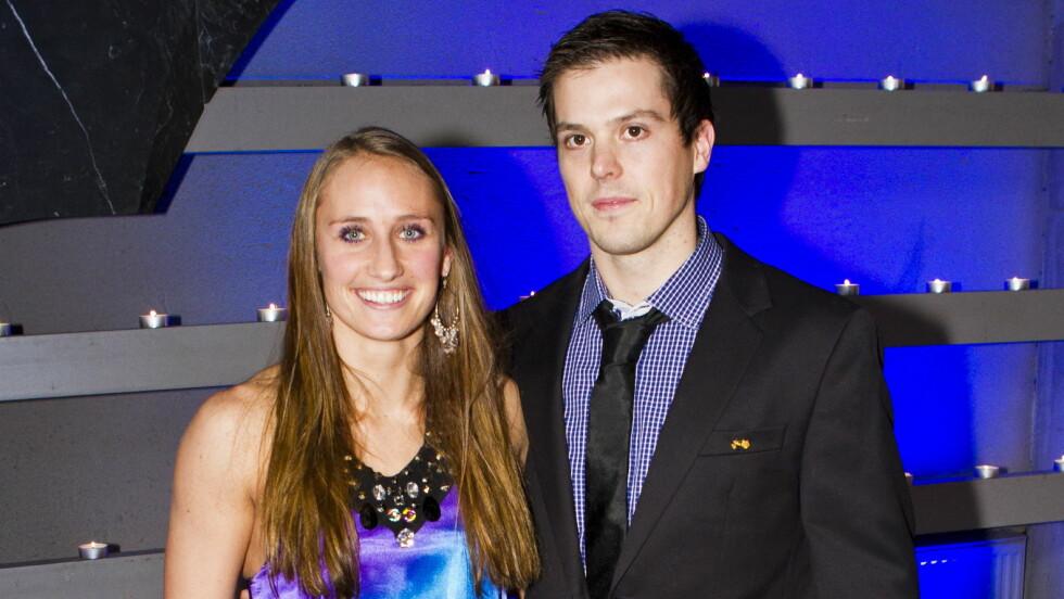 BLIR ENDELIG SAMBOERE: Camilla Herrem og ektemannen Steffen Stegavik har store planer om å flytte sammen til høsten etter flere år med avstandsforhold.  Foto: NTB scanpix