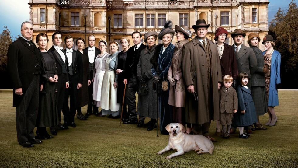 KAN BLI FILM: Flere skuespillere hinter om at det er sannsynlig at fansen ikke har sett det siste av gjengen fra TV-serien «Downton Abbey». Foto: ITV