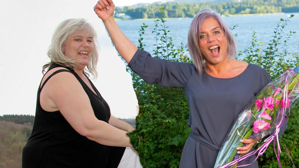 EKSTREM FORVANDLING: Kari Anne var tungt medisinert og overvektig da hun i 2013 bestemte seg for å endre livsstil. I 2016 vant hun Grete Roedes Helsepris. Foto: PRIVAT/MORTEN EIK/S EOG HØR
