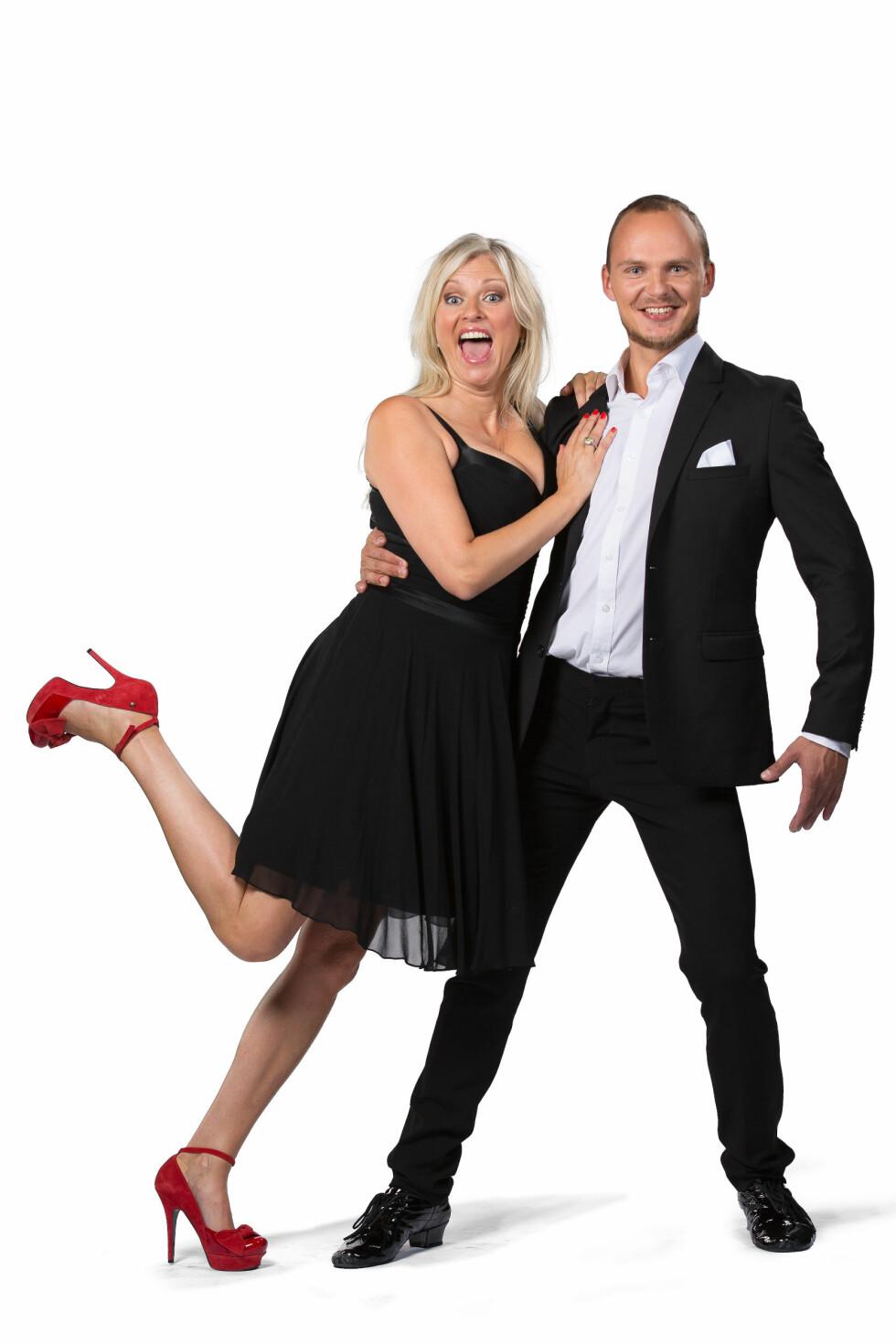 PARTNERE: Eli Kari Gjengedal skal danse med Ivo Havranek. Foto: Espen Solli / TV2