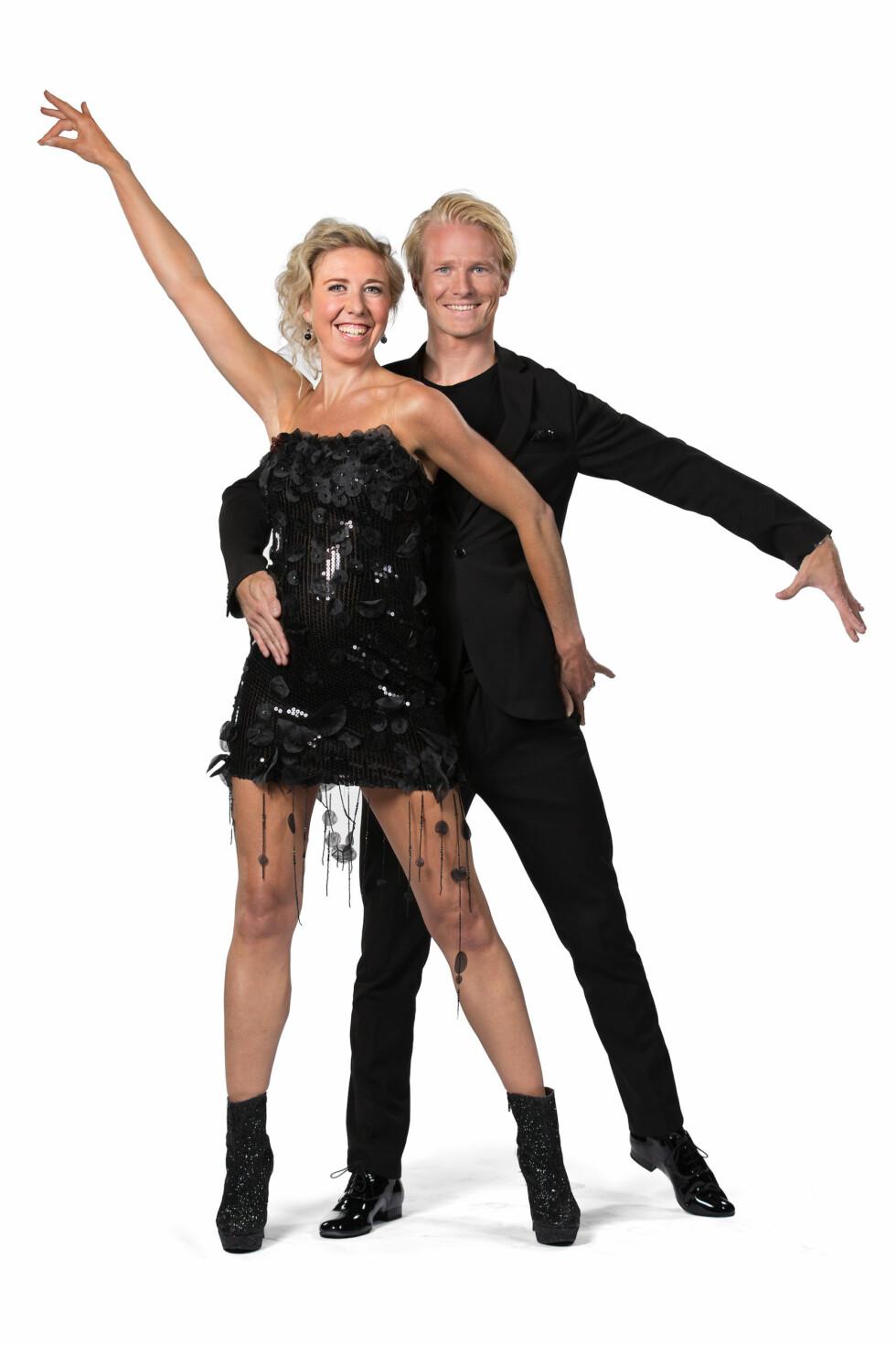 PARTNERE: OL-vinner og tidligere langrennsløper Kristin Størmer Steira skal danse med Fredric Brunberg. Foto: Espen Solli / TV2