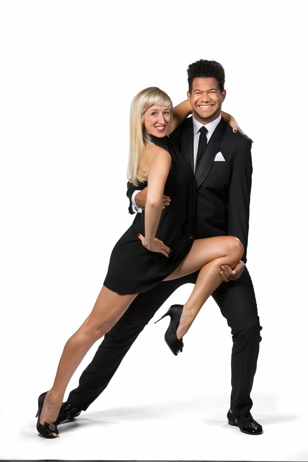 PARTNERE: Programleder Markus Bailey skal danse med Mai Benedikte Mentzoni. Foto: Espen Solli / TV2