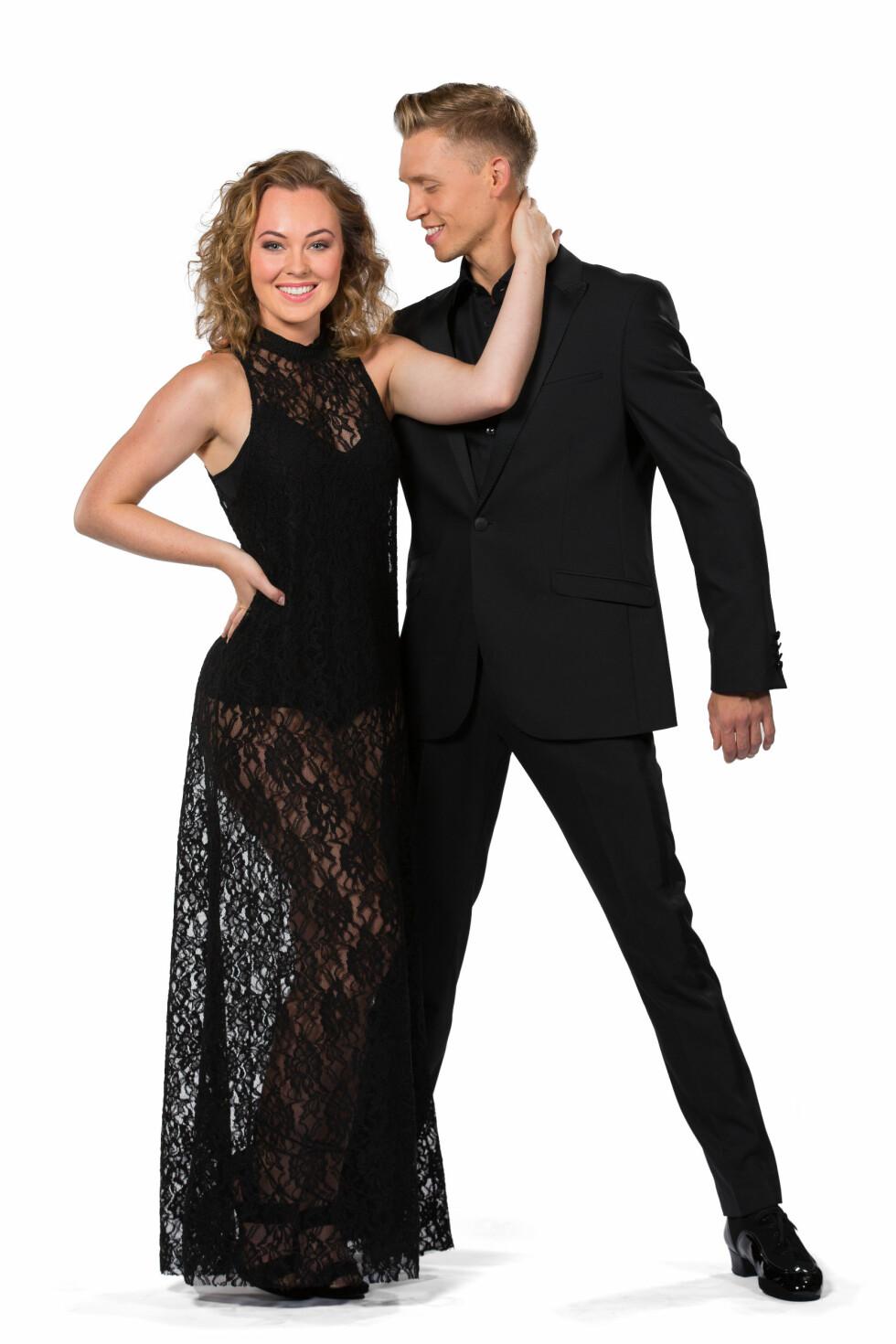 PARTNERE: Artist Raylee Kristiansen skal danse med Alexander Svanberg. Foto: Espen Solli / TV2