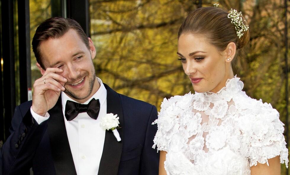 LYKKELIG GIFT: I april for to år siden ga paret hverandre sine ja i Oslo. Foto: Se og Hør