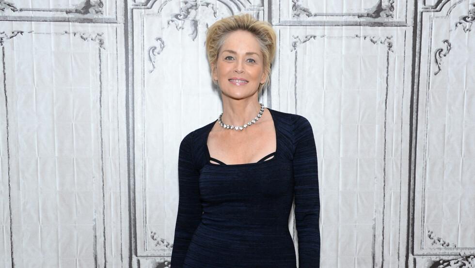EVIG UNG: Det er ingen tvil om at Sharon Stone holder seg fantastisk bra for alderen. Foto: Ap