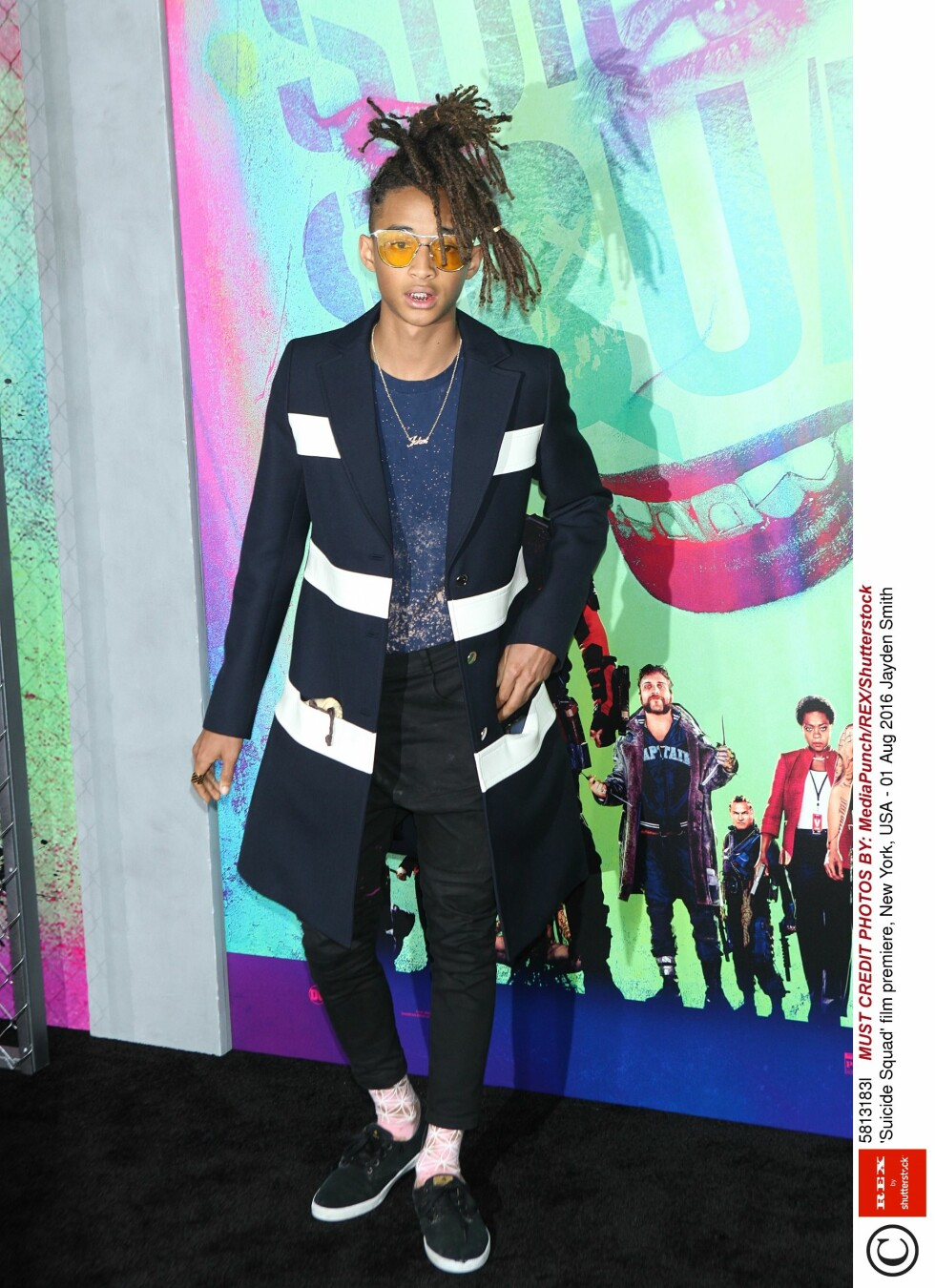 <strong>STILIG:</strong> Jaden Smith ble med pappa Will på premiere.  Foto: Rex Features
