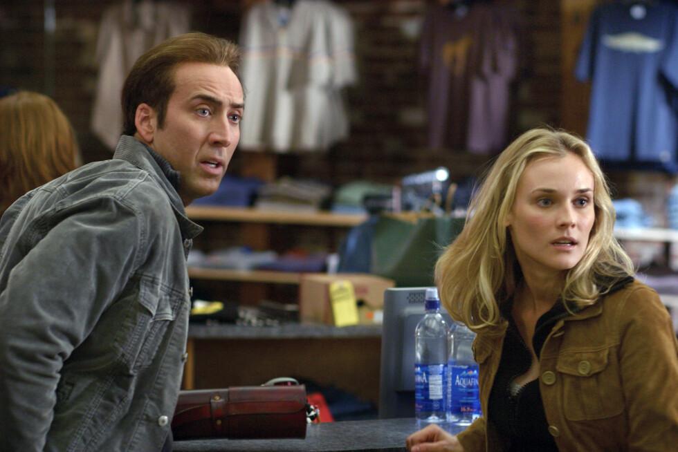 HOLLYWOOD-STJERNE: Diane Kruger har blant annet spilt i filmen «National Treasure» fra 2004, der hun spilte mot Hollywood-stjernen Nicolas Cage.  Foto: Mary Evans Picture