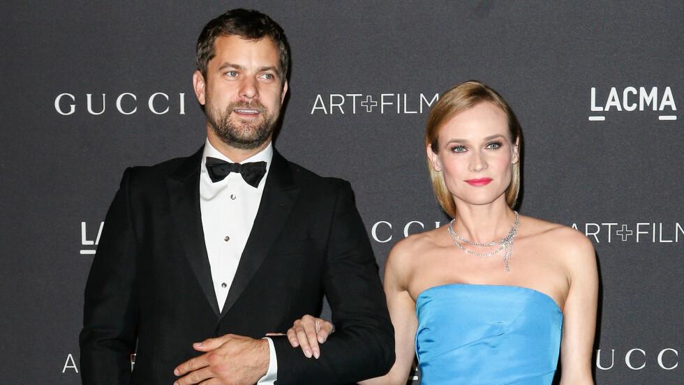 SINGEL IGJEN: For knappe to uker siden gjorde skuespillerduoen Joshua Jackson og Diane Kruger det slutt. Foto: SipaUSA