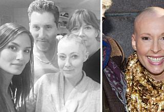 TV-stjernen Shannen Doherty roses for åpenhet rundt brystkreften