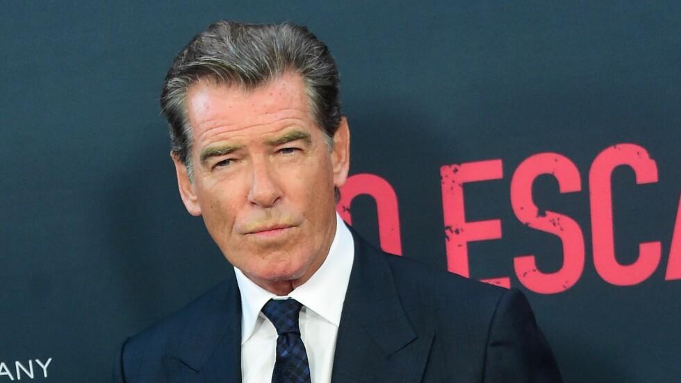 MØTTE PAPPA ÉN GANG: Da Pierce Brosnan ble født, stakk faren av. Først da sønnen ble stjerne dukket han opp igjen. Foto: Afp